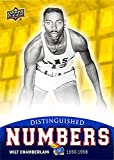 Wilt Chamberlain Basketball Card (Kansas Jayhawks, #13 Jersey) 2013 Upper Deck Distinguished Numbers #DN-4