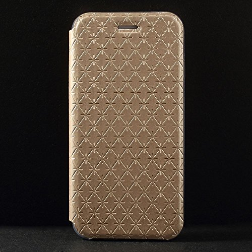 Apple iPhone 6S 6 Carbon Housse Coque de protection Housse Case or decui Étui de protection en cuir PU