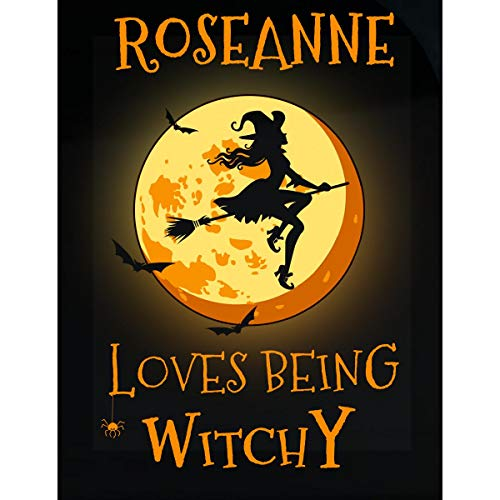 Inked Creatively Roseanne Loves Being Witchy Sticker]()