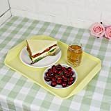"Obston Plastic Fast Food Trays for Eating, 17"" x"