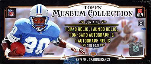 Topps Museum Collection 2014 NFL Box (4/Packs) by Museum Collection