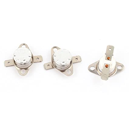 uxcell 3 Pcs KSD301 NC Temperature Switch Thermostat 155 Celsius 250V 10A