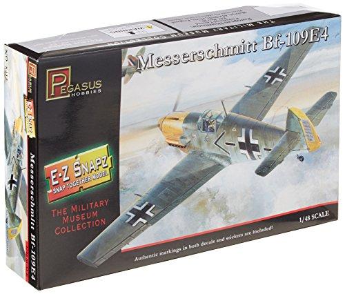 (Messerschmitt Bf109E4 Aircraft (Snap Kit) 1-48 Pegasus)