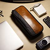 PU Leather & Canvas Electronic Organizer, Small