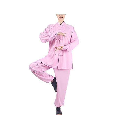 X Traje de meditación Zen para Mujer Uniforme de Tai Chi ...