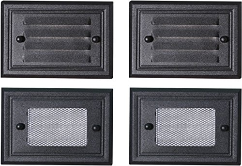- Paradise GL22682BK Low Voltage Aluminum 7W Deck Light (Black, 4 Pack)