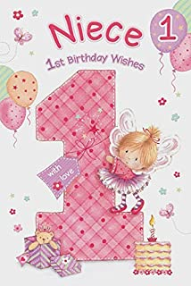 Niece 1st Birthday Card GR 206136
