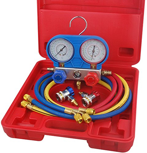 SpeedWay 46688 A/C Manifold Gauge Set