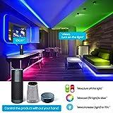 AMBOTHER RGB LED Strip Lights 32.8ft WiFi LED Light