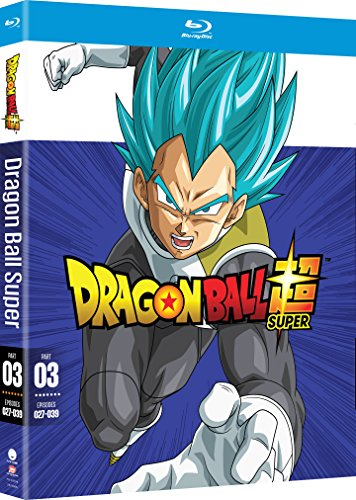 Dragon Ball Super: Part Three [Blu-ray] (Dragon Ball Super Funimation English Dub Release Date)
