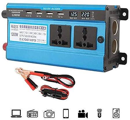 DJNBQ 500W 1200W 1600W 2200W 3000W energía del Coche Inverter12V ...