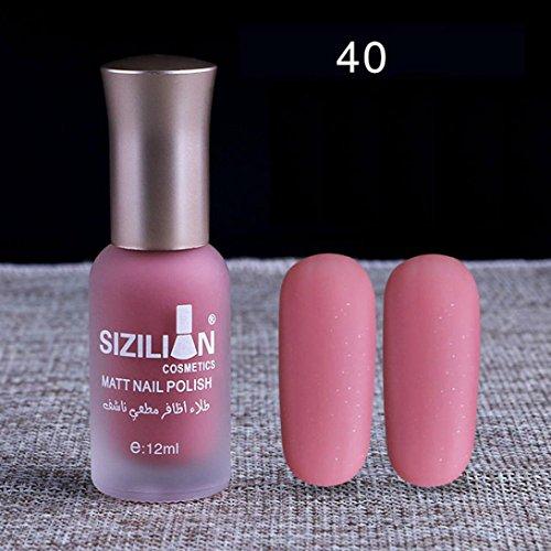 Gel Nail Polish Qatar: Women Fashion Matte Nail Polish Mingfa Long Lasting Fast