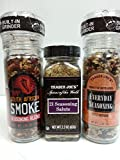 Trader Joe's 3 Seasoning Assortment - Everyday Seasoning, 21 Seasoning Salute, South African Smoke Seasoning Blend