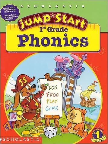 Amazon.com: JumpStart 1st Grade Phonics Workbook (9780439164115 ...