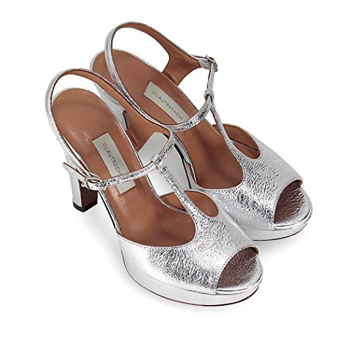 buy cheap fast delivery L'Autre Chose Women's Shoes Silver Platform Sandal Spring Summer 2018 buy cheap outlet locations RkTwqTy3