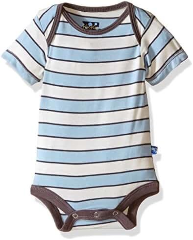 KicKee Pants Baby-boys Infant Print Short Sleeve One-piece