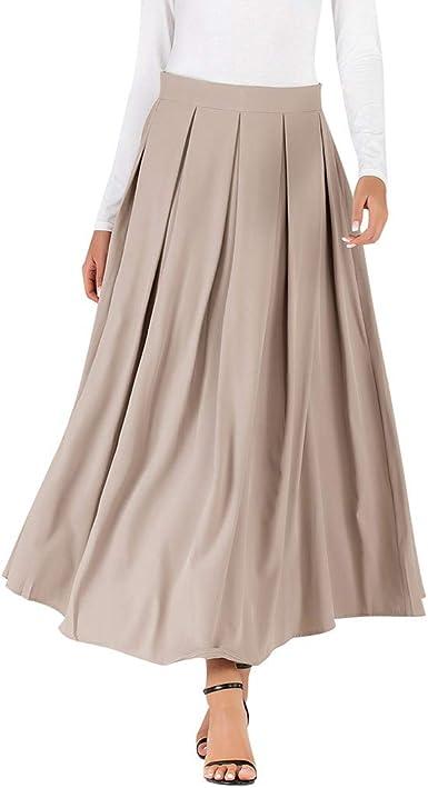 Faldas Mujer Largas Otoño 2019 Elegante Tallas Grandes PAOLIAN ...
