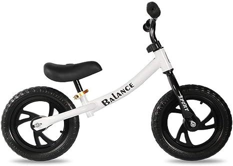 RCIN NiñIto Bicicleta De Equilibrio Ligero 12 Pulgadas Sin Pedales ...