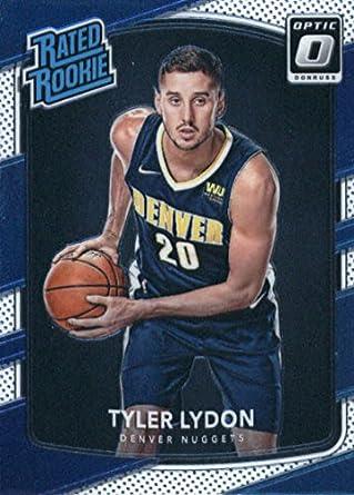 the best attitude 15fe6 d7bba Amazon.com: 2017-18 Donruss Optic Basketball RC #177 Tyler ...