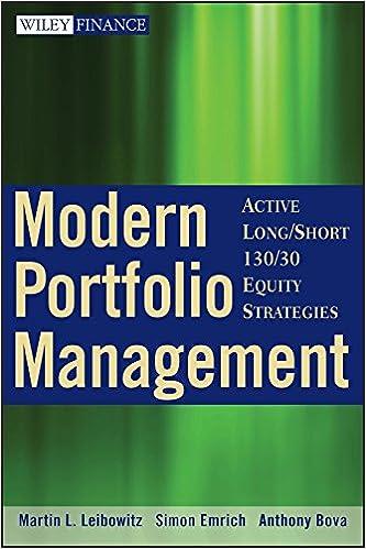 Amazon Modern Portfolio Management Active Longshort 13030