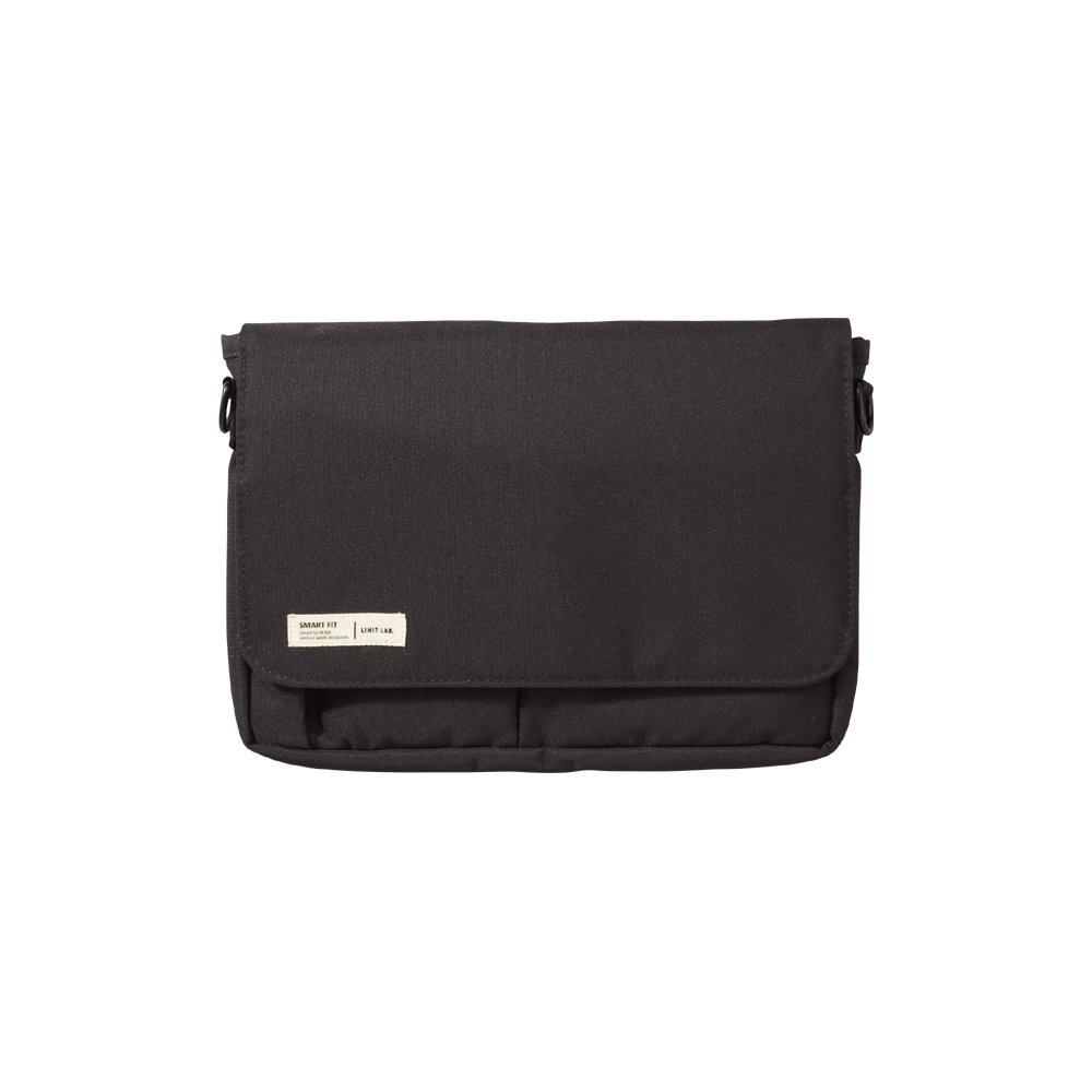 Lihit Lab Carrying Pouch, Black, 6.7 x 9.4 Inches (A7575-24)