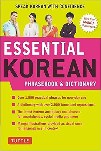 Essential Korean Phrasebook and Dictionary