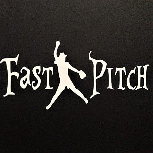 ~SOFTBALL PITCHER~ Decal Sticker Fastpitch car truck!!