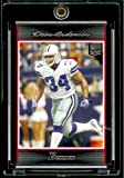 2007 Bowman # 263 Deon Anderson (RC) - Dallas Cowboys - NFL Trading Football Rookie Card