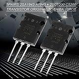5 Pair Black 2SA1943 2SC5200 High Power Audio