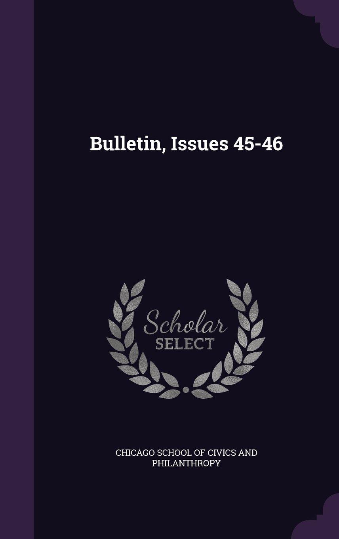 Bulletin, Issues 45-46 pdf