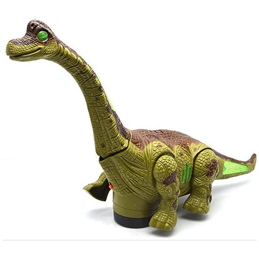 Funblast Walking Moving Dinosaur Toy With Flashing Lights A
