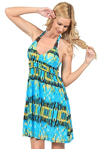 Printed Jersey Tea Dress - 3