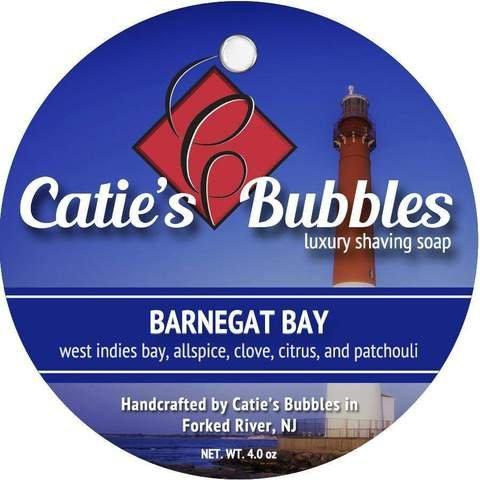 Catie's Bubbles Luxury Shaving Soap - New Formula (Barnegat Bay) from Catie's Bubbles