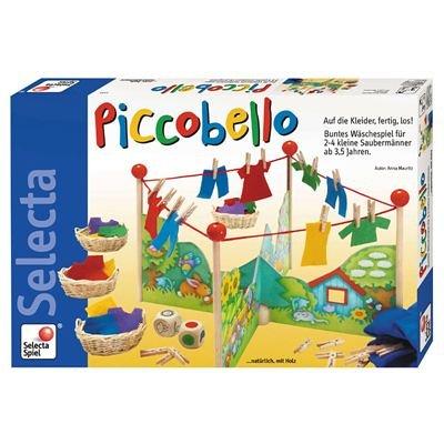 Selecta 3584 Picobello - Juego para aprender a hacer la colada (versión en alemán)