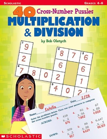 Crossnumber Puzzles (40 Cross-number Puzzles: Multiplication & Division (40 Cros-number Puzzles))