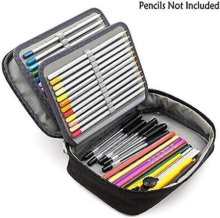 Estuche Grande para lápices, Estuche de Almacenamiento para lápices, lápices, lápices, lápices, Gomas de borrar y Otros Cacahuetes: Amazon.es: Hogar