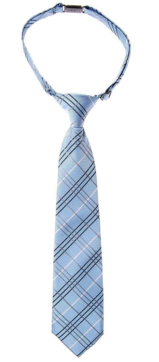 Retreez Jungen Gewebte vorgebundene Krawatte Tartan Plaid Karo Manier RTZ-PTKDTIE-19