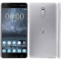 Smartphone Nokia 6 dual chip Android 7.1 Tela 5.5 32GB 4G Camera 16MP - Prata