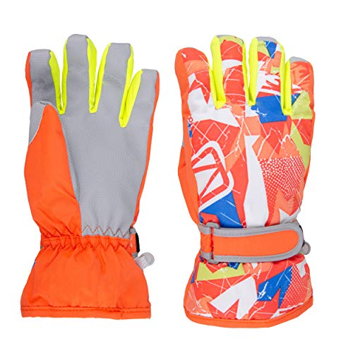 TRIWONDER Skihandschuhe, Winddichte Warme Snowboard Handschuhe, Winterhandschuhe für Damen, Herren und Kinder
