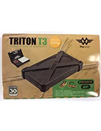 Buy ONE - My Weigh Triton T3 400g x 0.01g Digital Scale w/Rubber Case - TOUGH! dispense