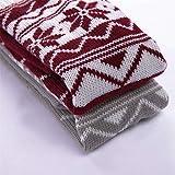 MTENG Long Striped Socks Knitted Knee Thigh High