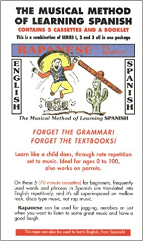 Rapanese Spanish Series,: The Musical Method of Learning Spanish Series, With Booklet: Amazon.es: Robert D. DAmours: Libros