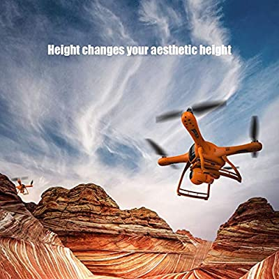 Xianxian88 FPV Remote Drone, 1080P HD Camera Drone, Automatic Surround/Aerial Lock/one-Button Return, GPS Positioning RC Drone