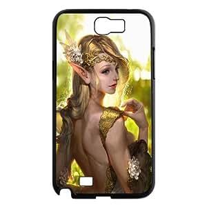 Samsung Galaxy Note 2 Case Fairy Black Yearinspace YS366556