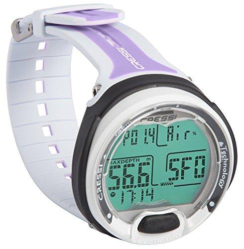 Cressi Leonardo Scuba Dive Computer Wrist Watch (Lilac, None)