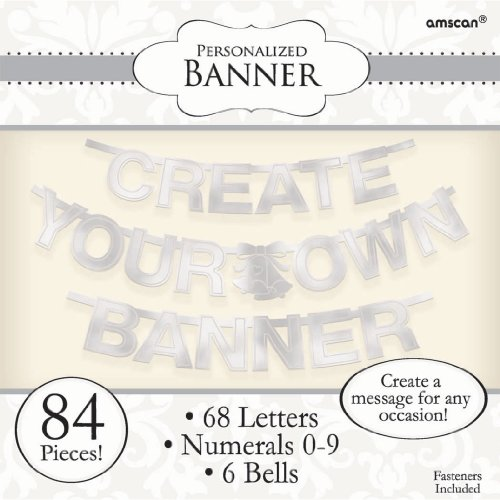 Silver Foil Create-Your-Own Letter -
