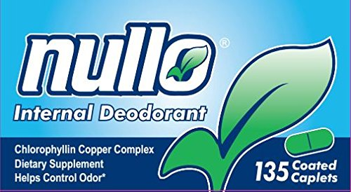 (Nullo Internal Deodorant, Coated Caplets, 135 Caplets)