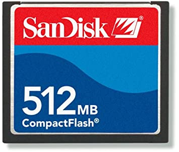 Amazon.com: SanDisk 512 MB Compact Flash tarjeta de memoria ...