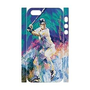 ZK-SXH - Derek Jeter Custom 3D Case Cover for iPhone 5,5G,5S,Derek Jeter DIY 3D Cover Case