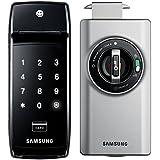Samsung SHS-2320 Digital Door Lock, RIM Claw Deadbolt, Touchscreen, Keyless